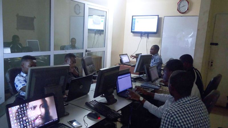 Web Design Training in Ghana group photo
