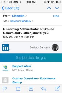 LinkedIn Job Suggestions