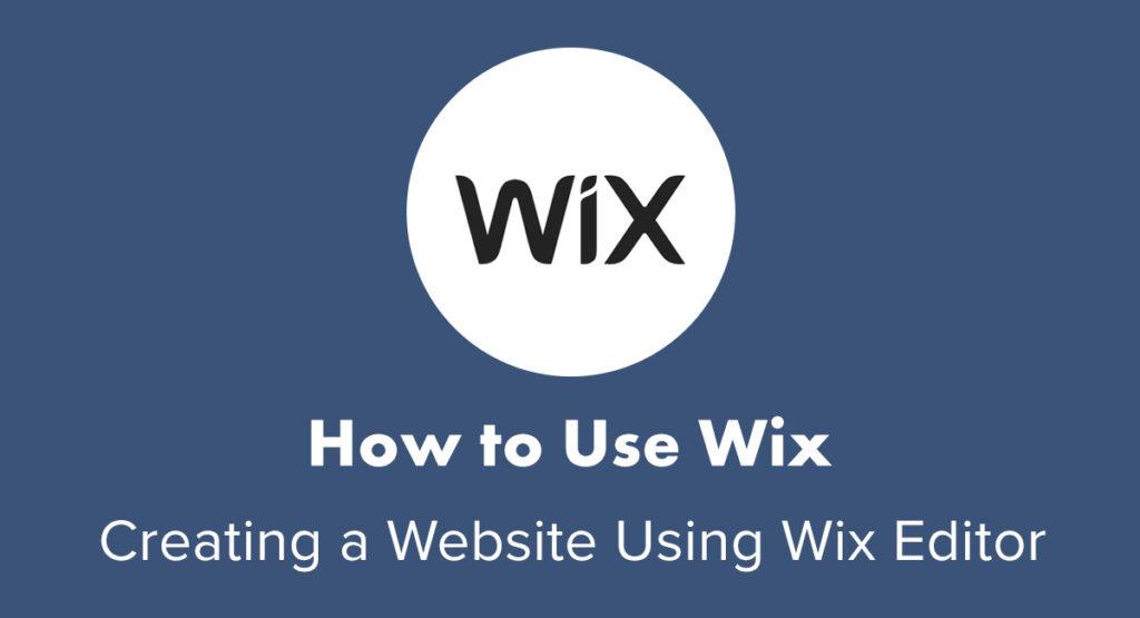 wix tutorial